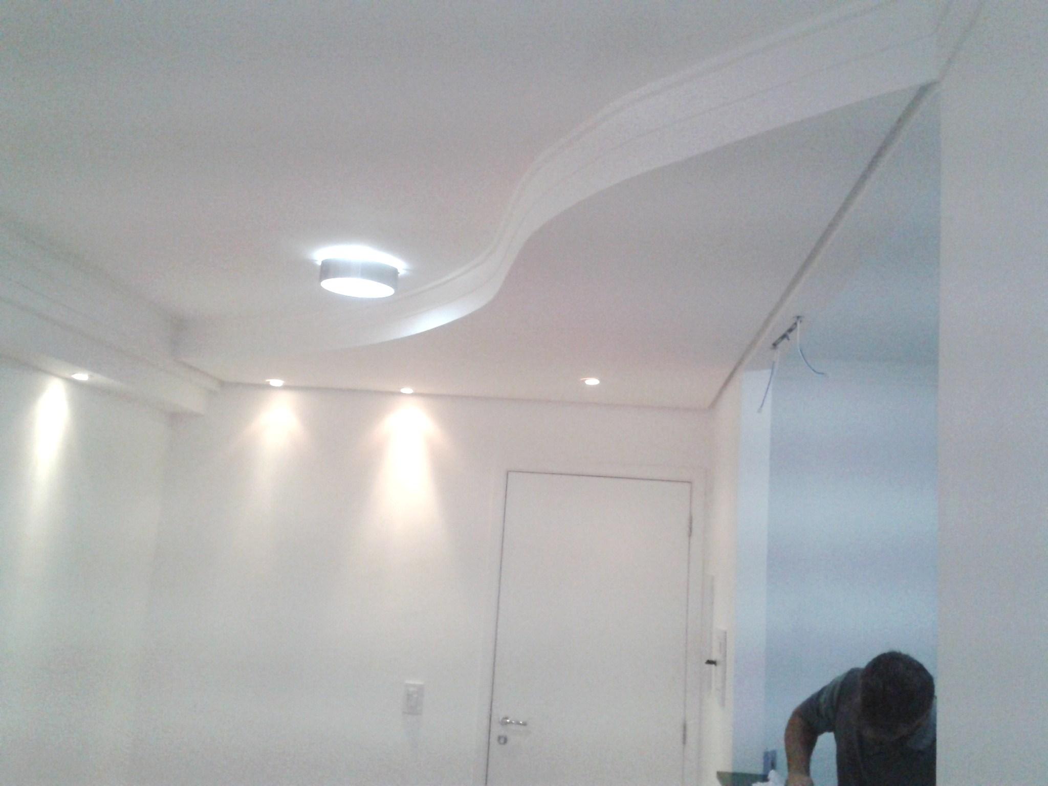Forro de Gesso Sancas e Iluminação DryWall Molduras de Gesso  #4C5E6B 2048 1536