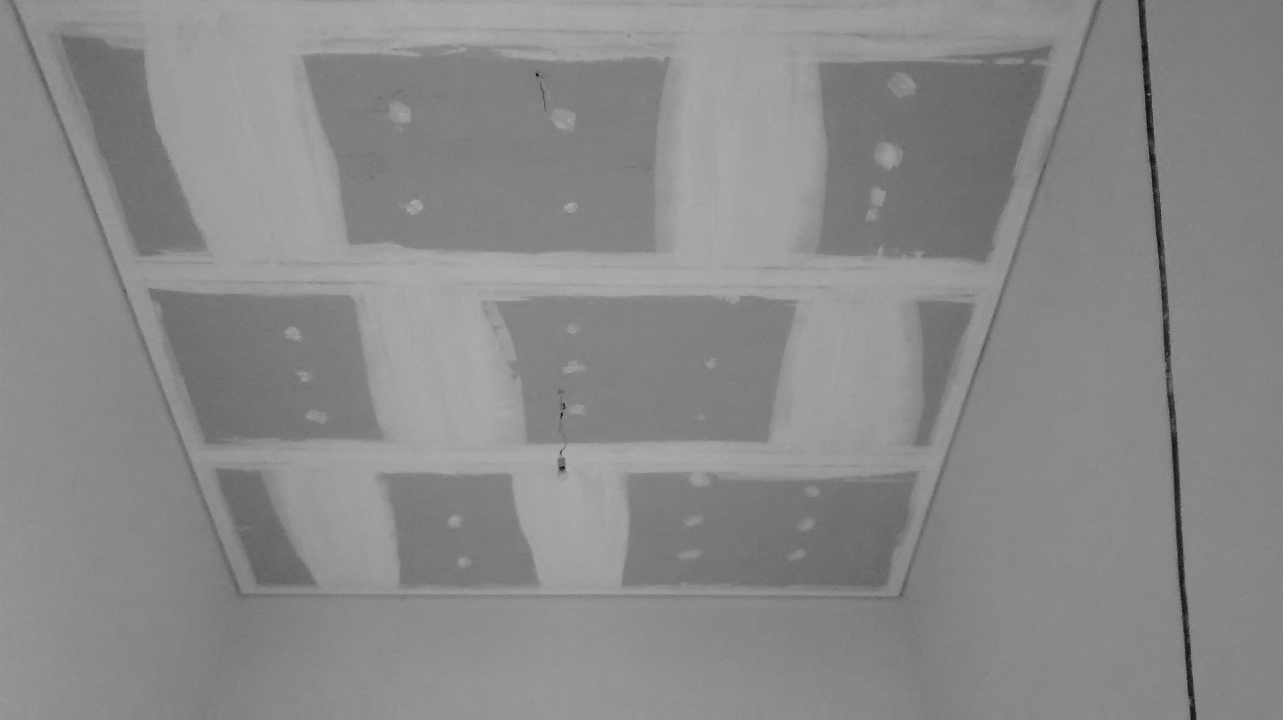 Gesso Sancas e Iluminação DryWall Molduras de Gesso Geso Liso #676466 2592 1456