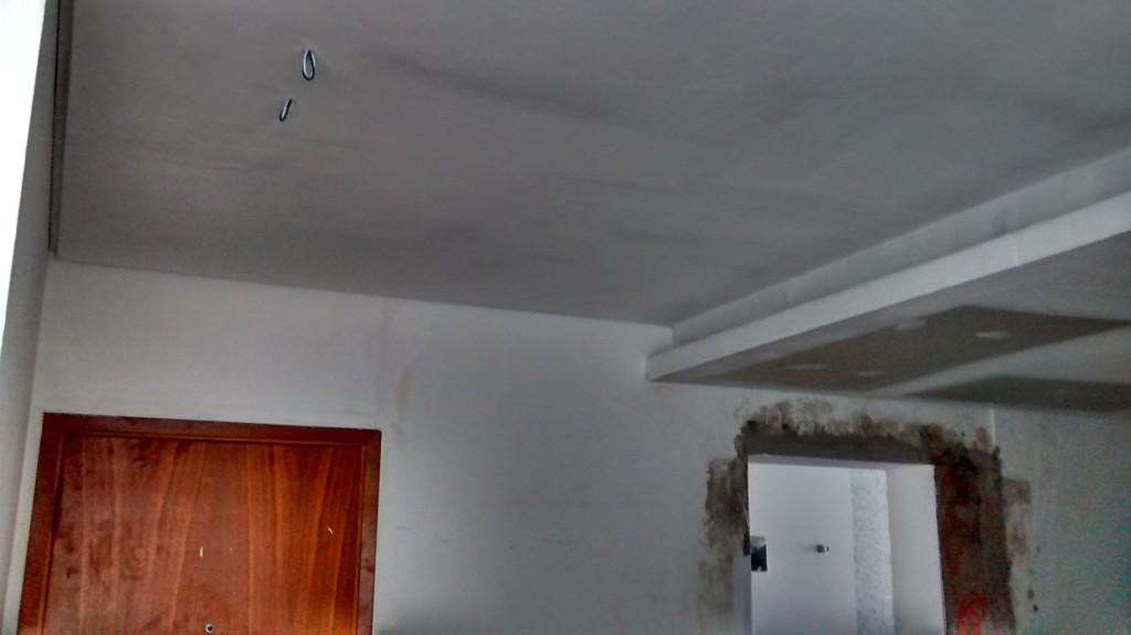 Sanca aberta invertida obra realizada no Con. Pajussara Cambuí