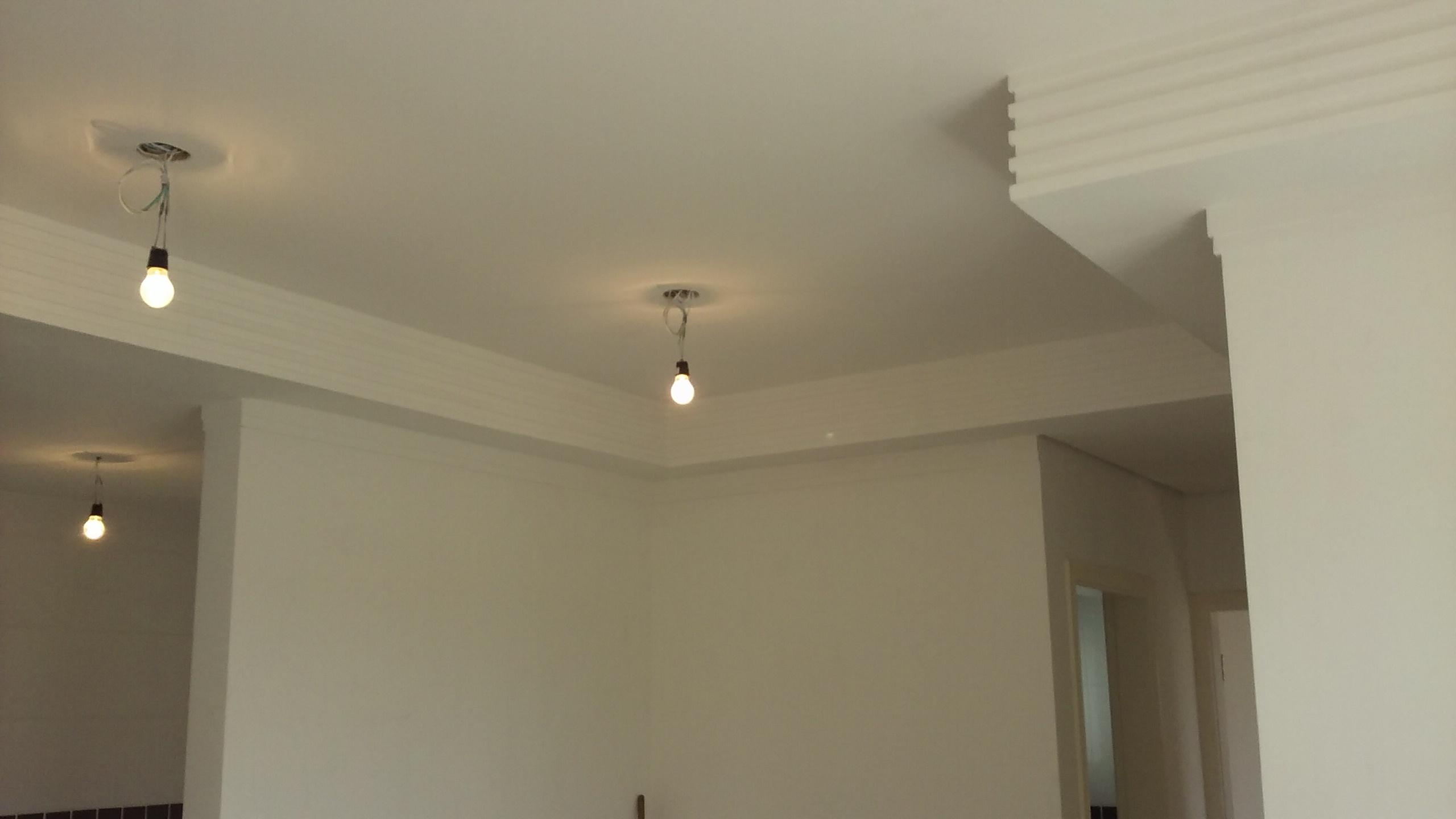 Obras Forro De Gesso Sancas E Ilumina O Drywall Molduras De