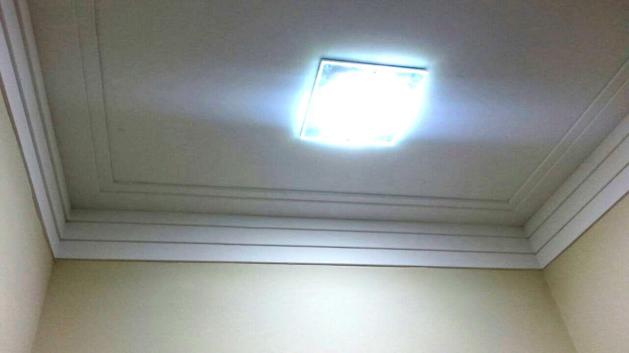 Gesso Campinas Forro De Gesso Sancas E Ilumina O Drywall  -> Acabamento Gesso Sala